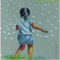 agoimoni maa, 20 x 18 inch, arpita biswas dasgupta,paintings,figurative paintings,flower paintings,landscape paintings,nature paintings,kids paintings,paintings for dining room,paintings for living room,paintings for bedroom,paintings for kids room,paintings for hotel,paintings for dining room,paintings for living room,paintings for bedroom,paintings for kids room,paintings for hotel,canson paper,pastel color,20x18inch,GAL01013621594Nature,environment,Beauty,scenery,greenery