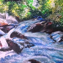 water, 20 x 18 inch, arpita biswas dasgupta,nature paintings,art deco paintings,realism paintings,paintings for dining room,paintings for living room,paintings for bedroom,paintings for office,paintings for kids room,paintings for hotel,paintings for kitchen,paintings for school,paintings for hospital,fabriano sheet,pastel color,20x18inch,GAL01013621596Nature,environment,Beauty,scenery,greenery