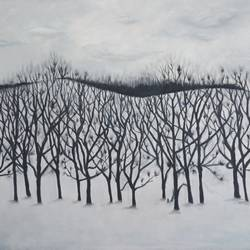 chilling winter , 37 x 25 inch, idris khaleel,paintings,nature paintings,paintings for dining room,paintings for living room,paintings for bedroom,paintings for office,paintings for hotel,canvas,oil,37x25inch,GAL01131721637Nature,environment,Beauty,scenery,greenery