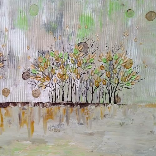 earthy scent , 18 x 12 inch, esther sandhya a,paintings,abstract paintings,landscape paintings,nature paintings,paintings for living room,paintings for office,paintings for hotel,canvas,acrylic color,18x12inch,GAL0166321668Nature,environment,Beauty,scenery,greenery