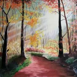morning light freshness , 27 x 17 inch, md moin ,nature paintings,paintings for living room,paintings for bedroom,paintings for office,paintings for school,paintings for hospital,canvas,acrylic color,27x17inch,GAL01096021688Nature,environment,Beauty,scenery,greenery