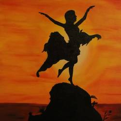 flying women, 20 x 30 inch, devendra  gupta,paintings,abstract paintings,modern art paintings,canvas board,acrylic color,20x30inch,GAL01154221702