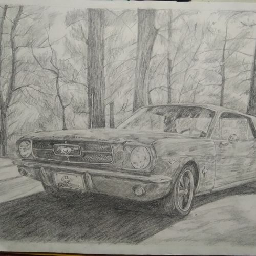 f  o  r  d   mustang, 16 x 12 inch, ritesh chavan,drawings,conceptual drawings,figurative drawings,fine art drawings,photorealism drawings,realism drawings,surrealist drawings,paintings for dining room,paintings for living room,paintings for bedroom,paintings for office,paintings for bathroom,paintings for kids room,paintings for hotel,paintings for kitchen,paintings for school,paintings for hospital,drawing paper,pencil color,16x12inch,GAL01139221854