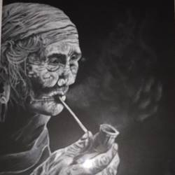 timeless, 21 x 26 inch, anula thakur,drawings,portrait drawings,paintings for living room,hardboard,pencil color,21x26inch,GAL01135021887