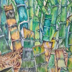 bamboo love, 11 x 15 inch, subrata chakraborty,paintings,landscape paintings,paintings for dining room,paintings for living room,paintings for bedroom,paintings for office,paintings for bathroom,paintings for hotel,paintings for kitchen,paintings for school,paintings for hospital,paintings for dining room,paintings for living room,paintings for bedroom,paintings for office,paintings for bathroom,paintings for hotel,paintings for kitchen,paintings for school,paintings for hospital,handmade paper,acrylic color,11x15inch,GAL01168521904Nature,environment,Beauty,scenery,greenery