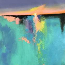 ocean delight , 13 x 19 inch, amita dand,13x19inch,canvas,paintings,abstract paintings,landscape paintings,paintings for dining room,paintings for living room,paintings for office,paintings for bathroom,paintings for hotel,paintings for hospital,acrylic color,GAL0146721993