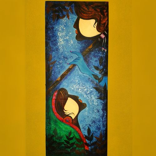 radhe krishna painting, 1 x 3 inch, ganesh mestry,1x3inch,canvas,paintings,love paintings,paintings for dining room,paintings for living room,paintings for bedroom,paintings for office,paintings for hotel,paintings for kitchen,paintings for hospital,acrylic color,GAL01106322027heart,family,caring,happiness,forever,happy,trust,passion,romance,sweet,kiss,love,hugs,warm,fun,kisses,joy,friendship,marriage,chocolate,husband,wife,forever,caring,couple,sweetheart