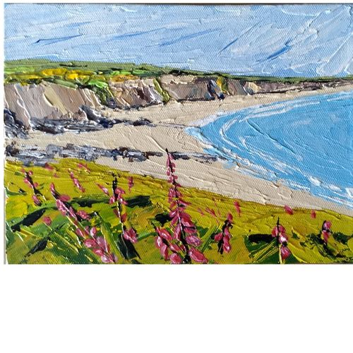 beach bliss along cliff, 8 x 6 inch, surindar  singh,8x6inch,canvas,paintings,abstract paintings,wildlife paintings,landscape paintings,modern art paintings,conceptual paintings,still life paintings,nature paintings,abstract expressionist paintings,impressionist paintings,realism paintings,paintings for dining room,paintings for living room,paintings for bedroom,paintings for office,paintings for bathroom,paintings for kids room,paintings for hotel,paintings for kitchen,paintings for school,paintings for hospital,acrylic color,GAL0646422054Nature,environment,Beauty,scenery,greenery