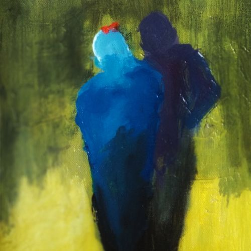 in togetherness, 8 x 10 inch, tijo thomas,8x10inch,canvas,paintings,acrylic color,fabric,GAL01171322119