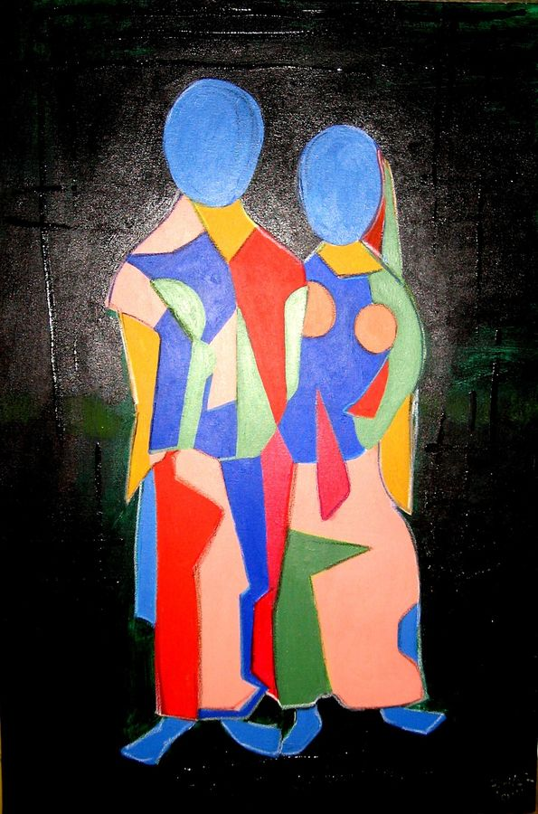 man & woman (2) geo., 30 x 20 inch, amit  sen,abstract paintings,paintings for living room,love paintings,canvas,acrylic color,30x20inch,GAL08592212heart,family,caring,happiness,forever,happy,trust,passion,romance,sweet,kiss,love,hugs,warm,fun,kisses,joy,friendship,marriage,chocolate,husband,wife,forever,caring,couple,sweetheart