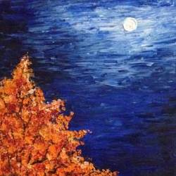 moonlight, 12 x 24 inch, jyoti sharma,12x24inch,canvas,paintings,surrealist paintings,oil,GAL01196922126