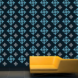 Wall Stencil: Beautiful Morden Design Wall Stencil , 2 Stencil (Size 12x12,6x6 inches) | Reusable | DIY,GAL0122221,GAL0122221