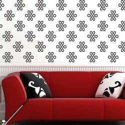 Wall Stencil: Trendy Home And Office Design Wall Stencil  , 1 Stencil (Size 12x12 inches) | Reusable | DIY,GAL0122223,GAL0122223