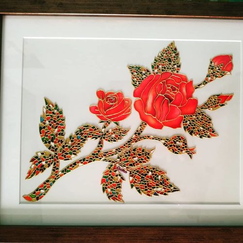 a bunch of roses, 10 x 13 inch, shulkha acharya,10x13inch,ohp plastic sheets,paintings,abstract paintings,flower paintings,modern art paintings,still life paintings,nature paintings,paintings for dining room,paintings for living room,paintings for bedroom,paintings for office,paintings for bathroom,paintings for kids room,paintings for hotel,paintings for kitchen,paintings for school,paintings for hospital,glass,GAL01157222293Nature,environment,Beauty,scenery,greenery