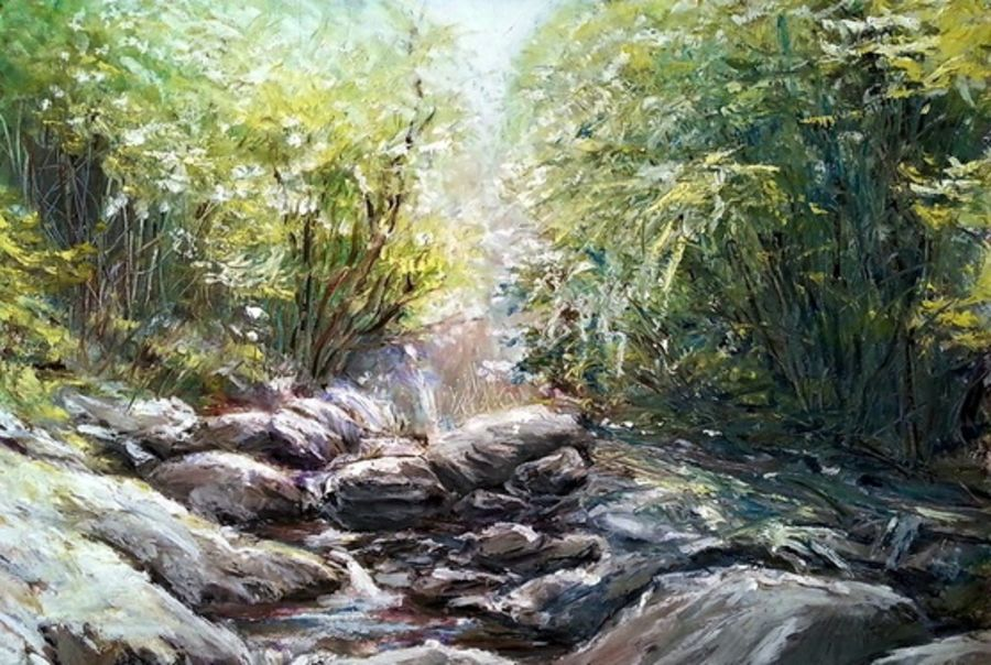 landscape  , 18 x 20 inch, arpita biswas dasgupta,18x20inch,brustro watercolor paper,paintings,landscape paintings,nature paintings,paintings for dining room,paintings for living room,paintings for kids room,pastel color,GAL01013622296Nature,environment,Beauty,scenery,greenery