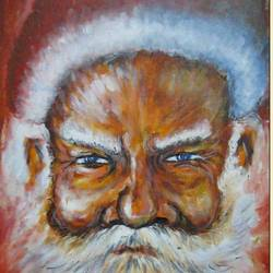 jingle bell, 24 x 18 inch, santanu dash,portrait paintings,paintings for bedroom,paintings for office,canvas,acrylic color,24x18inch,GAL08622230