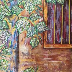the last autumn, 15 x 22 inch, subrata chakraborty,15x22inch,handmade paper,paintings,cityscape paintings,conceptual paintings,nature paintings,paintings for dining room,paintings for living room,paintings for bedroom,paintings for office,paintings for kids room,paintings for hotel,paintings for school,paintings for hospital,acrylic color,ink color,GAL01168522352Nature,environment,Beauty,scenery,greenery