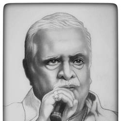 indian singer  jayachandran, 8 x 10 inch, shivkumar  menon,8x10inch,drawing paper,drawings,paintings for living room,art deco drawings,fine art drawings,portrait drawings,paintings for living room,graphite pencil,GAL098622391
