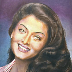 aishwarya rai, 16 x 20 inch, john bosco mary,16x20inch,canvas,paintings,figurative paintings,photorealism,oil,GAL01232322415