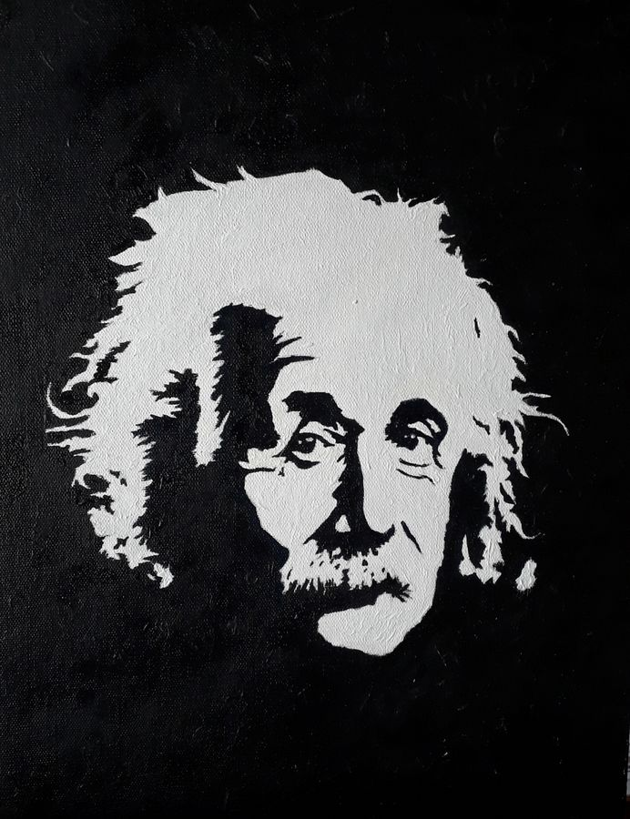 face of science , 12 x 16 inch, diptonil banerjee,12x16inch,canvas board,paintings,portrait paintings,oil,GAL01103222449