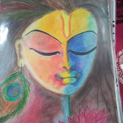 shiva the lorj, 12 x 17 inch, madhvi sharma,12x17inch,ivory sheet,drawings,paintings for living room,paintings for office,paintings for hotel,illustration drawings,paintings for living room,paintings for office,paintings for hotel,pastel color,GAL01245522476