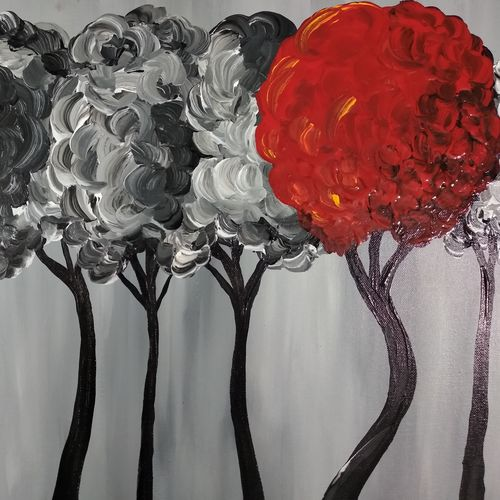the happy tree, 14 x 18 inch, monideepa biswas sarkar,14x18inch,canvas,paintings,conceptual paintings,paintings for living room,paintings for office,paintings for hotel,paintings for school,paintings for hospital,paintings for living room,paintings for office,paintings for hotel,paintings for school,paintings for hospital,acrylic color,GAL01061122499