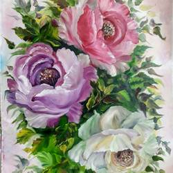 floral oil painting, 14 x 19 inch, sapna kadyan,14x19inch,oil sheet,paintings,flower paintings,nature paintings,paintings for dining room,paintings for living room,paintings for bedroom,paintings for office,paintings for bathroom,paintings for kids room,paintings for hotel,paintings for kitchen,paintings for school,paintings for hospital,oil,GAL01176022525Nature,environment,Beauty,scenery,greenery