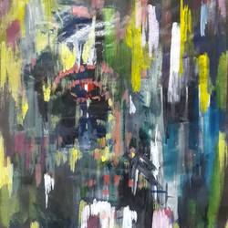 cry in autumn, 11 x 15 inch, subrata chakraborty,11x15inch,paper,paintings,abstract paintings,modern art paintings,conceptual paintings,abstract expressionist paintings,paintings for dining room,paintings for living room,paintings for bedroom,paintings for office,paintings for bathroom,paintings for hotel,paintings for school,paintings for hospital,acrylic color,GAL01168522581