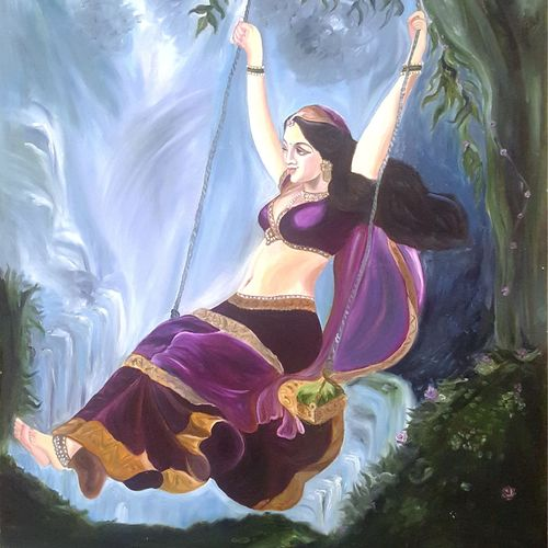 indian lady, 20 x 28 inch, sapna kadyan,20x28inch,oil sheet,paintings,figurative paintings,landscape paintings,still life paintings,nature paintings,radha krishna paintings,love paintings,paintings for dining room,paintings for living room,paintings for bedroom,paintings for office,paintings for bathroom,paintings for kids room,paintings for hotel,paintings for kitchen,paintings for school,paintings for hospital,oil,GAL01176022584heart,family,caring,happiness,forever,happy,trust,passion,romance,sweet,kiss,love,hugs,warm,fun,kisses,joy,friendship,marriage,chocolate,husband,wife,forever,caring,couple,sweetheartNature,environment,Beauty,scenery,greenery