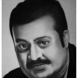 indian actor suresh gopi, 8 x 11 inch, shivkumar  menon,8x11inch,drawing paper,drawings,art deco drawings,fine art drawings,portrait drawings,paintings for living room,graphite pencil,GAL098622640