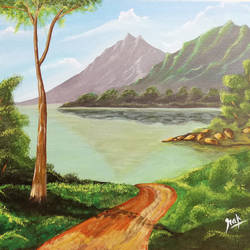 nature's pool, 18 x 14 inch, rakesh kumar,18x14inch,canvas,paintings,landscape paintings,paintings for dining room,paintings for living room,paintings for bedroom,paintings for office,paintings for kids room,paintings for hotel,paintings for school,paintings for hospital,paintings for dining room,paintings for living room,paintings for bedroom,paintings for office,paintings for kids room,paintings for hotel,paintings for school,paintings for hospital,acrylic color,GAL01016622676