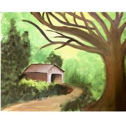 nature, 15 x 11 inch, simran tiwari,15x11inch,drawing paper,paintings,nature paintings,poster color,GAL01257522713Nature,environment,Beauty,scenery,greenery