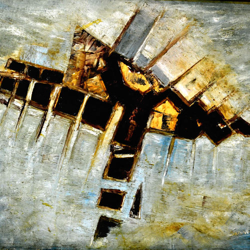 abstract-3, 30 x 40 inch, anand manchiraju,30x40inch,canvas,paintings,abstract paintings,paintings for dining room,paintings for living room,paintings for bedroom,paintings for office,paintings for kids room,paintings for hotel,paintings for kitchen,paintings for school,paintings for hospital,oil color,GAL01254022736