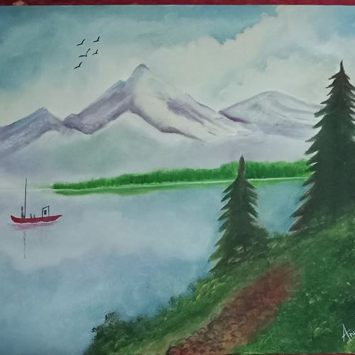 silent valley, 18 x 14 inch, anuradha baliga,18x14inch,canvas,paintings,landscape paintings,nature paintings,paintings for living room,paintings for bedroom,paintings for office,paintings for kids room,paintings for hotel,paintings for hospital,paintings for living room,paintings for bedroom,paintings for office,paintings for kids room,paintings for hotel,paintings for hospital,oil color,GAL01277522744Nature,environment,Beauty,scenery,greenery