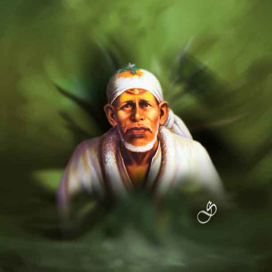 Buy Sai Baba Painting at Lowest Price by Dinesh Ghodke