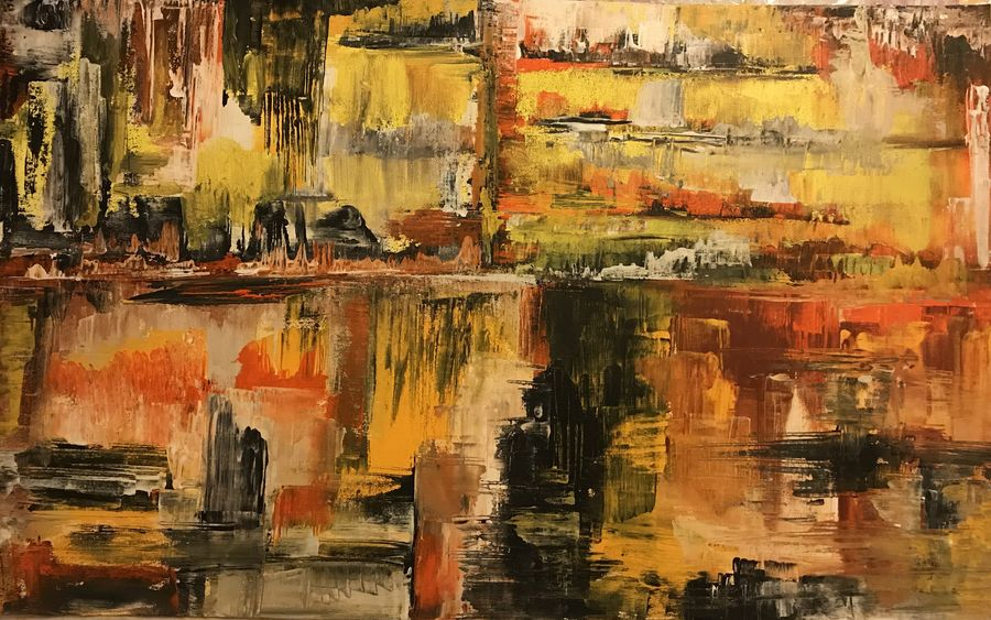 metro life , 37 x 23 inch, natassha art,37x23inch,canvas,paintings,abstract paintings,paintings for dining room,paintings for living room,paintings for bedroom,paintings for office,paintings for hotel,acrylic color,GAL01280322825