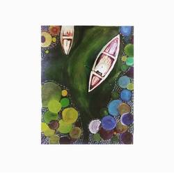 the sightseer, 5 x 7 inch, sneha rao,5x7inch,paper,paintings,abstract paintings,flower paintings,folk art paintings,landscape paintings,nature paintings,paintings for hotel,paintings for school,paintings for hospital,acrylic color,GAL0893822890
