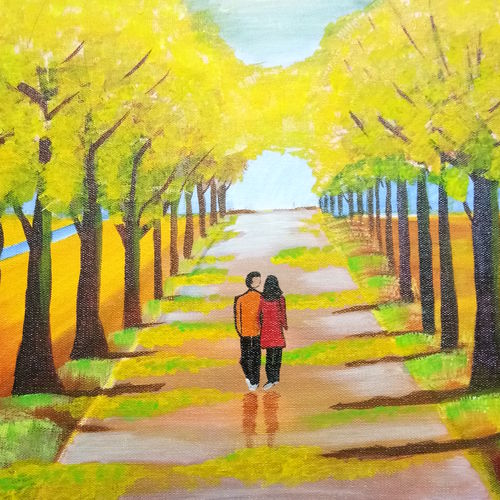 love , 12 x 16 inch, gayathri m,12x16inch,canvas,paintings,love paintings,paintings for dining room,paintings for living room,paintings for bedroom,paintings for hotel,acrylic color,GAL01286122899