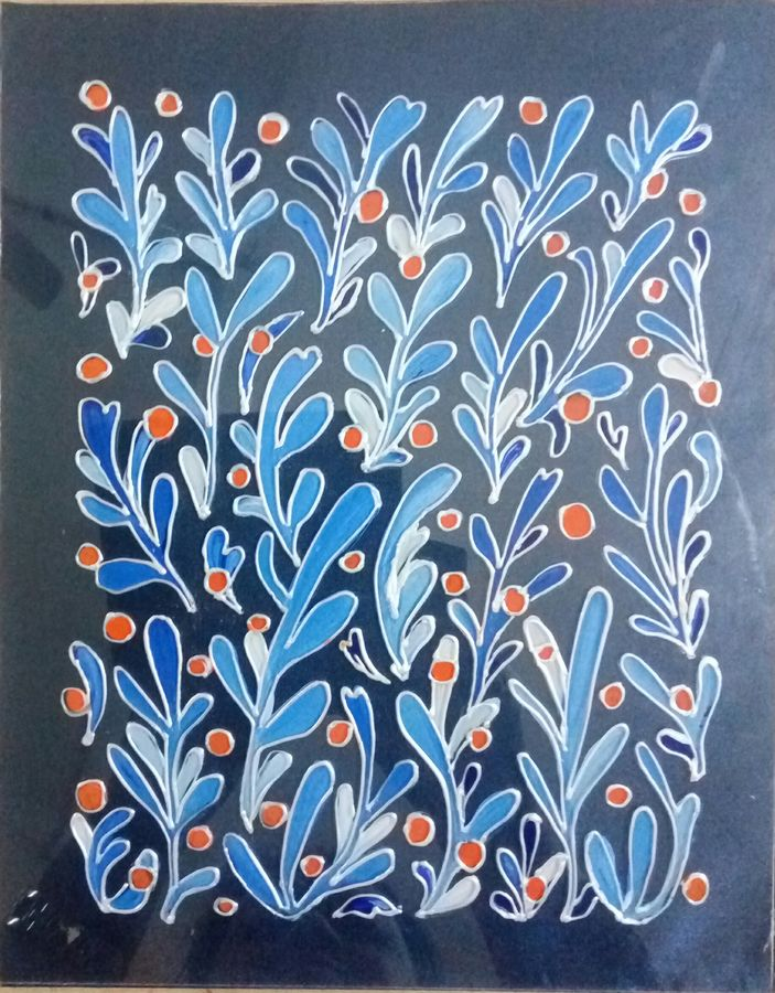 silver blue, 8 x 10 inch, deepti agrawal,8x10inch,acrylic glass,paintings,abstract paintings,flower paintings,modern art paintings,nature paintings,paintings for bedroom,paintings for bathroom,paintings for kids room,paintings for school,paintings for hospital,acrylic color,GAL0596822915