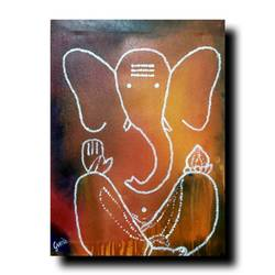 ganpati bappa , 15 x 20 inch, gurudas kale,15x20inch,canvas,paintings,realistic paintings,mother teresa paintings,warli paintings,miniature painting.,paintings for bedroom,art deco drawings,paintings for dining room,paintings for living room,paintings for office,paintings for kids room,paintings for hotel,paintings for kitchen,paintings for school,paintings for hospital,paintings for bedroom,acrylic color,GAL0778422926