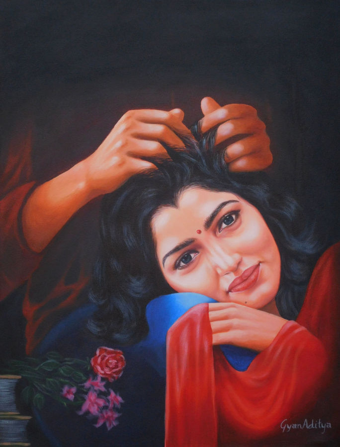 beautiful moment, 18 x 24 inch, gyanaditya mourya,18x24inch,canvas,paintings,figurative paintings,conceptual paintings,portrait paintings,photorealism,realistic paintings,paintings for dining room,paintings for living room,paintings for bedroom,paintings for office,paintings for bathroom,paintings for hotel,paintings for kitchen,paintings for dining room,paintings for living room,paintings for bedroom,paintings for office,paintings for bathroom,paintings for hotel,paintings for kitchen,acrylic color,GAL06822927