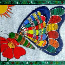 spring is here, 28 x 22 inch, akanksha sinha,28x22inch,paper,paintings,folk art paintings,nature paintings,madhubani paintings,paintings for living room,paintings for bedroom,paintings for kids room,paintings for school,paintings for living room,paintings for bedroom,paintings for kids room,paintings for school,pen color,watercolor,GAL01104123012