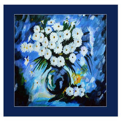 floral paintings, 22 x 18 inch, prime international,22x18inch,cartridge paper,paintings,flower paintings,paintings for dining room,paintings for living room,paintings for bedroom,paintings for office,paintings for kids room,paintings for hotel,paintings for school,paintings for hospital,acrylic color,GAL01282623028