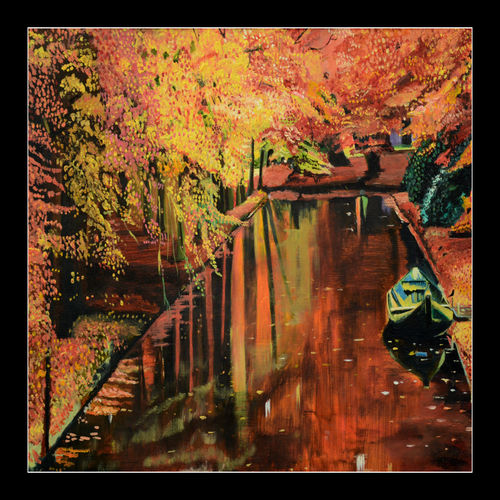 landscapes, 24 x 17 inch, prime international,24x17inch,oil sheet,paintings,landscape paintings,paintings for dining room,paintings for living room,paintings for bedroom,paintings for office,paintings for kids room,paintings for hotel,paintings for school,paintings for hospital,oil color,GAL01282623031