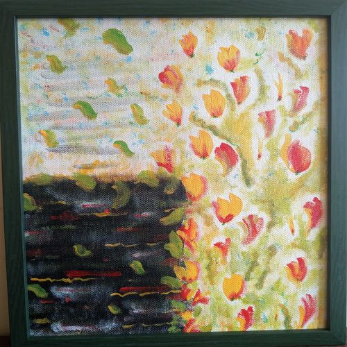 autumn, 10 x 12 inch, savitha krushnen,10x12inch,canvas,abstract paintings,paintings for hotel,paintings for hotel,acrylic color,GAL01300123066