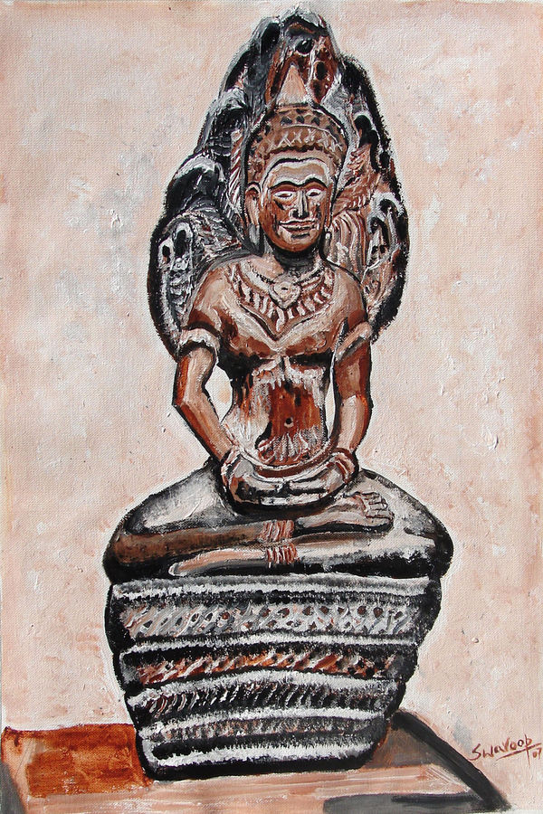 indian heritage-3, 16 x 24 inch, anand manchiraju,16x24inch,canvas,paintings,buddha paintings,paintings for dining room,paintings for living room,paintings for bedroom,paintings for office,paintings for hotel,paintings for hospital,acrylic color,GAL01254023090