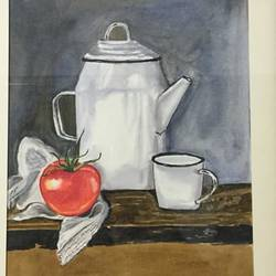 still life, 12 x 17 inch, smita yadav,12x17inch,brustro watercolor paper,still life paintings,watercolor,GAL01310423185