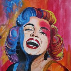 marilyn monroe, 18 x 24 inch, goutam ashish mohapatra,18x24inch,canvas board,paintings,figurative paintings,modern art paintings,portrait paintings,abstract expressionist paintings,pop art paintings,portraiture,paintings for dining room,paintings for living room,paintings for bedroom,paintings for office,paintings for bathroom,paintings for hotel,acrylic color,GAL01323823234