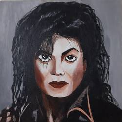 michael jackson, 12 x 12 inch, goutam ashish mohapatra,12x12inch,canvas board,paintings,abstract paintings,figurative paintings,modern art paintings,portrait paintings,pop art paintings,portraiture,paintings for dining room,paintings for living room,paintings for bedroom,paintings for office,paintings for kids room,paintings for hotel,acrylic color,GAL01323823235