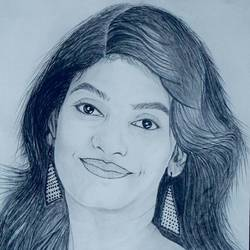 charcoal portrait , 12 x 16 inch, goutam ashish mohapatra,12x16inch,cartridge paper,drawings,figurative drawings,portrait drawings,paintings for dining room,paintings for living room,paintings for bedroom,paintings for office,paintings for hotel,charcoal,graphite pencil,GAL01323823245
